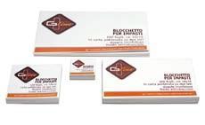 Blocchi Impasto in Carta G Line 1x100 10x10 1