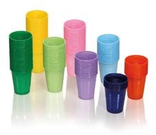 Bicchieri in Plastica Monoart 1