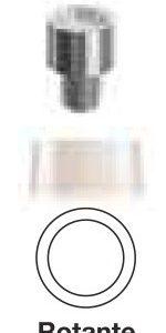 Cappette calcinabili diam. 3,3 mm rotante 2 pezzi