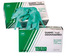 Guanti Verdi Defendo Trend 10x100 pz 1
