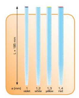 Refil 5 trasluc. in fibra vetro 2