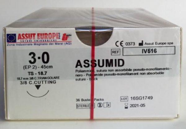 Assumid 5/0 12  3/8 TRI.  IX503 - 36pz 1