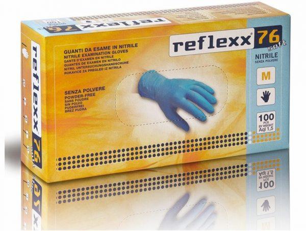 Guanti Reflexx in Nitrile senza polvere - 100pz 1