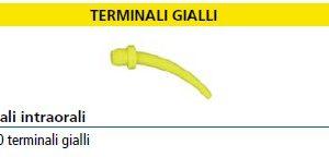 Terminali intraorali gialli - 100pz