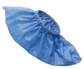 Copriscarpe Monouso PVC Blu - 100 pz 1