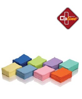 Salviette Plastificate G line Color Lime - 500pz