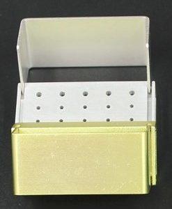 Portafrese aluminium Bur Block - Marrone