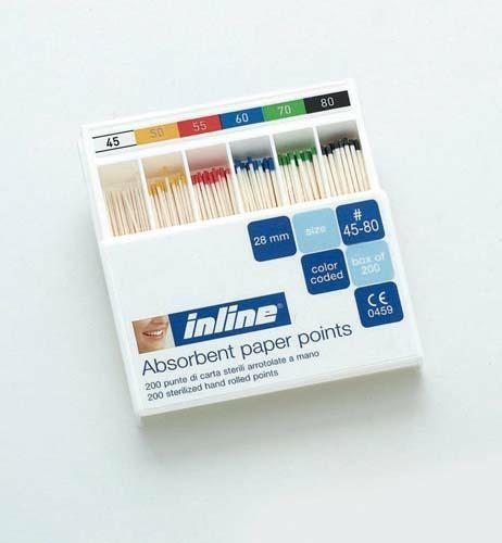 Punte di Carta Inline  15/40 - conf. da 200 pz in box a scomparti 1