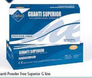 Guanti Powder Free Superior G line 100pz  S