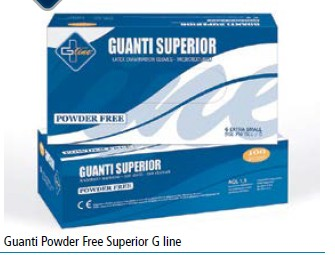 Guanti Powder Free Superior G line 10x100pz  XS