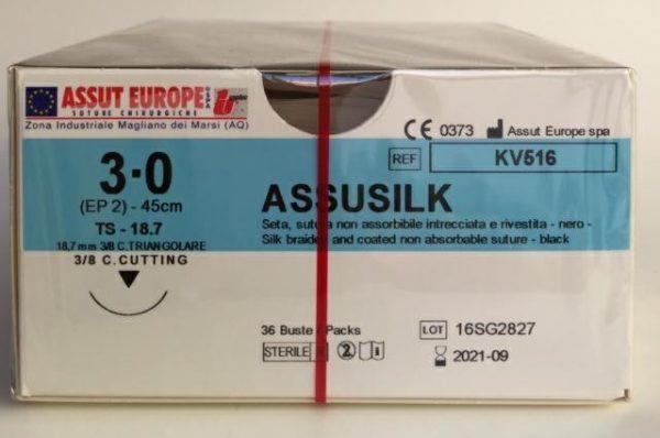 AssuSilk 3/0 - 36pz 2