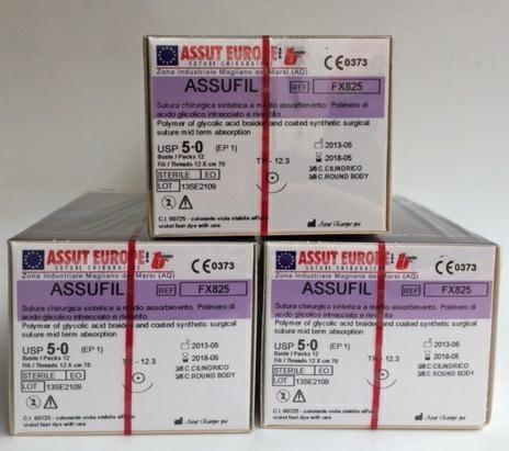 AssuFil 50/0 13,1  3/8 TRI. FX503 - 36pz 2