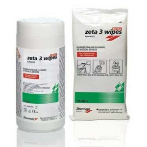 Zeta 3 Wipes Total Zhermack