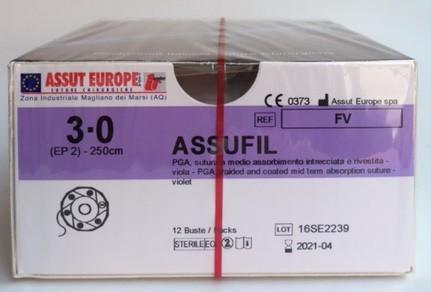 Assufil 3/0 - 36 pz.