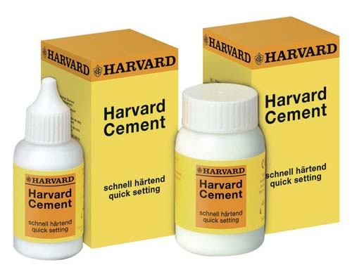 Harvard Cement Presa Rapida